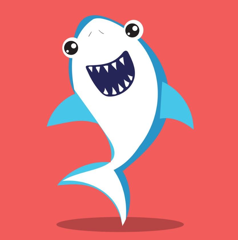 Baby Shark-Καρχαριάκι Ψαράκι Μπομπονιέρα Βάπτισης Σχεδιο 2021