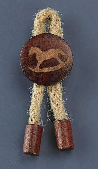 Ξύλινη Κονκάρδα αλογακι