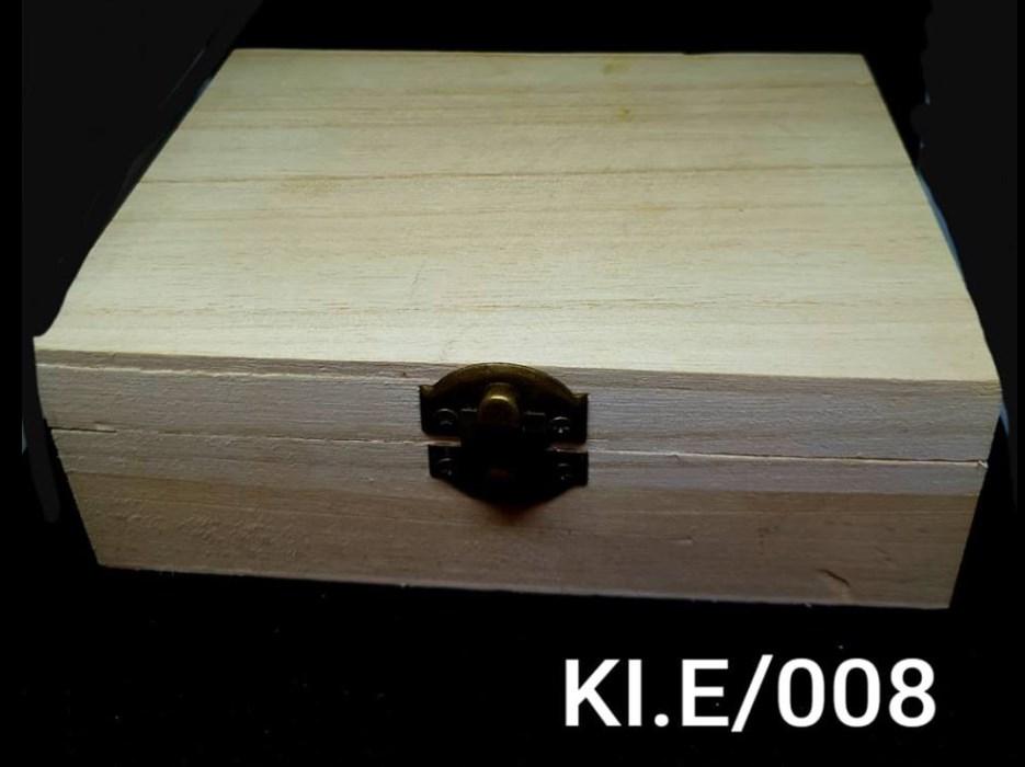 Αλουστράριστο ξύλινο κουτί Υ4,5 x Π10,5 x Μ14,7 εκ.